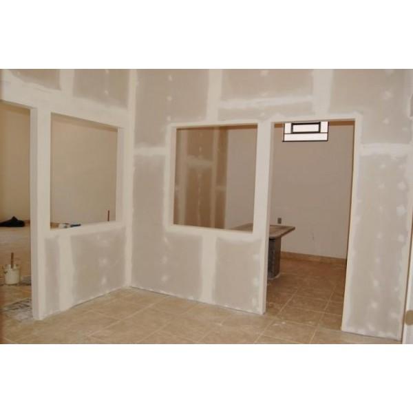 Divisória com Drywall no Jardim Lider - Divisória de Drywall na Grande SP