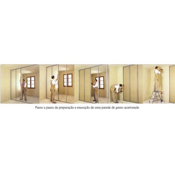 Divisória de Material Drywall no Centro - Divisória de Drywall