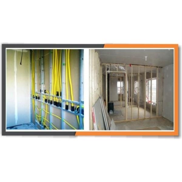 Onde Comprar Divisórias Feitas com Drywall no Jardim Bransley - Preço de Divisória Drywall