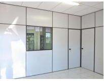 divisória de escritório no Jardim Marcelo