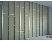 divisória de gesso drywall na BNH