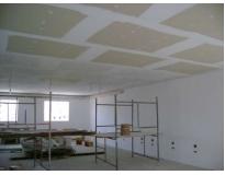 forro de drywall de teto no Jardim Paraná