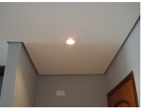 forro de drywall de teto rebaixado na Cohab Educandário