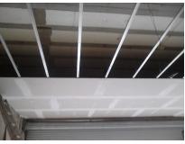 valor de forro de drywall de teto Fazenda Caguaçu
