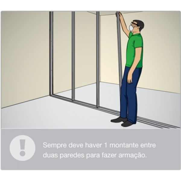 Valores de Divisórias Feitas com Drywall em Camilópolis - Divisória em Drywall